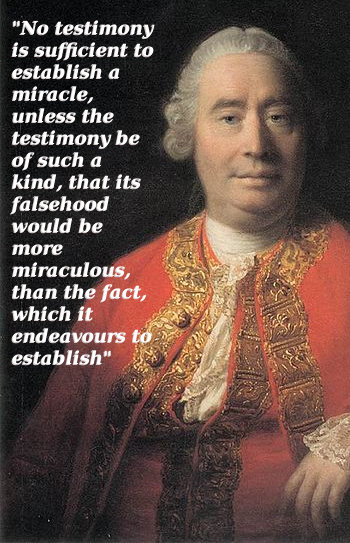 david hume miracles essay Generally regarded as one of the most important philosophers to write in english, david hume (b 1711, d 1776) was also well known in his own time as an historian.