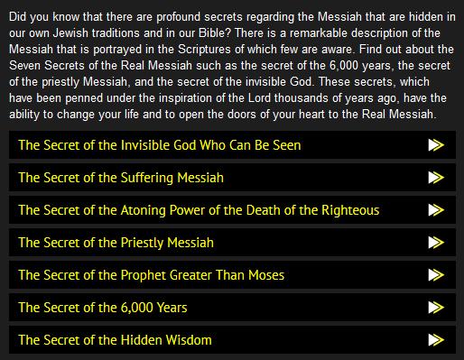 secrets in jewish scriptures