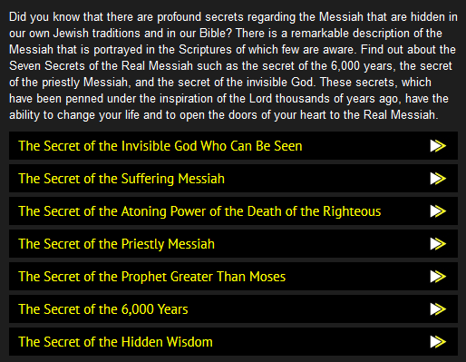 secrets in jewish scriptures